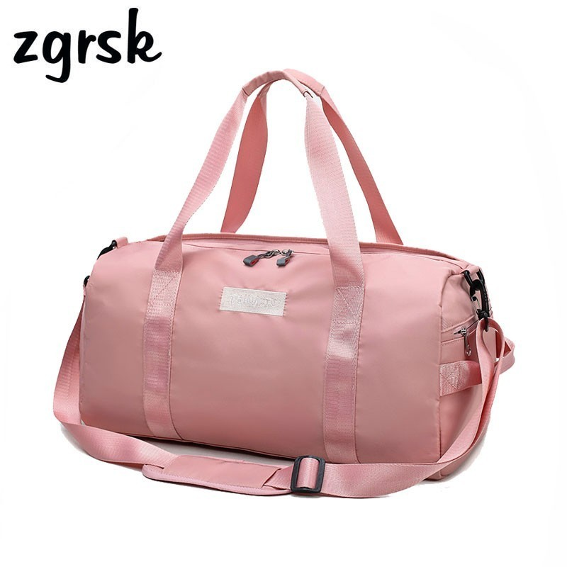 Nylon Duffel Bag Large Capacity Men Hand Luggage Weekend Bags Women Multifunctional And Fashion Duffle Travel