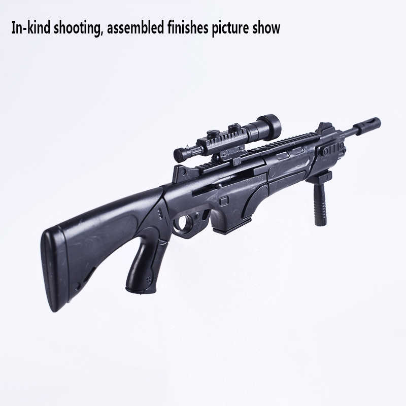 1/6 Scale Soldier FN SCAR Assault Rifle Gun Model Mold Soldiers Accessories  Weapon Toys For 12