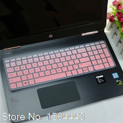 New Ultra Thin Soft Silicone Gel Keyboard Protector Cover Skin for HP NEWES Pavilion 15 Omen 15-ax008ns (2015 2016 VERSION)