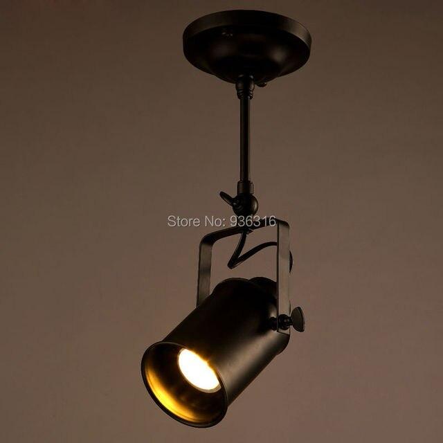 Us 138 70 Offosobowość Kreatywny Bar Przemysłowe Oświetlenie Sufitowe Led Kinkiety ścienne Do Salonu Sklep Tkaniny Krótkie Morden Metalu Lampy