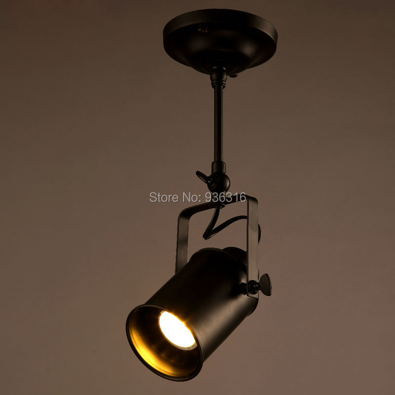 Personality Creative Bar Industrial Led Ceiling Sconce For