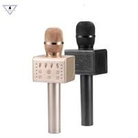Ssmarwear Original MicGeek Q11 Wireless Karaoke Mic Bluetooth sing K song magic Voice Change microphone speaker for Smart phone