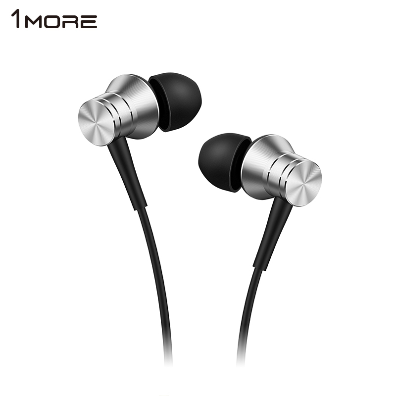 Original 1MORE Piston Fit In-Ear <font><b>Earphone</b></font> Earbud Headset <font><b>with</b></font> <font><b>Microphone</b></font> for iOS and Android Xiaomi Phone iPod iPad E1009 image