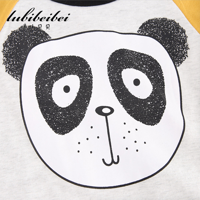 Childrenu0027s Sets Boy Two Sets Of 2017 New Summer Cartoon Childrenu0027s Cute  Panda Pattern T Shirt + Black And White Shorts Boy Set In Clothing Sets  From Mother ...