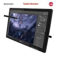 뜨거운 판매 새로운 GAOMON G190 19-Inches 펜 디스플레이 LCD 모니터 터치 Sreen 모니터 그래픽 그리기 디지털 태블릿 모니터 블랙