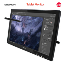 Hot Sale New Gaomon G190 19-Inches Pen Display LCD Monitor Touch Sreen Monitors Graphic Drawing Digital Tablet Monitors Black
