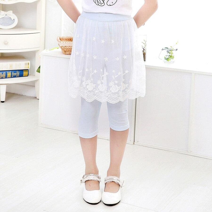 Hollo летняя детская одежда новое поступление теленок-длина леггинсы модные леггинсы для девочек Дети Штаны детские штаны для девочек Штаны ...