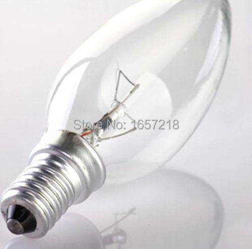 ordinary light bulb bulb small screw tip crystal light bulb e14 screw 40w decoration report - Decorative Light Bulbs