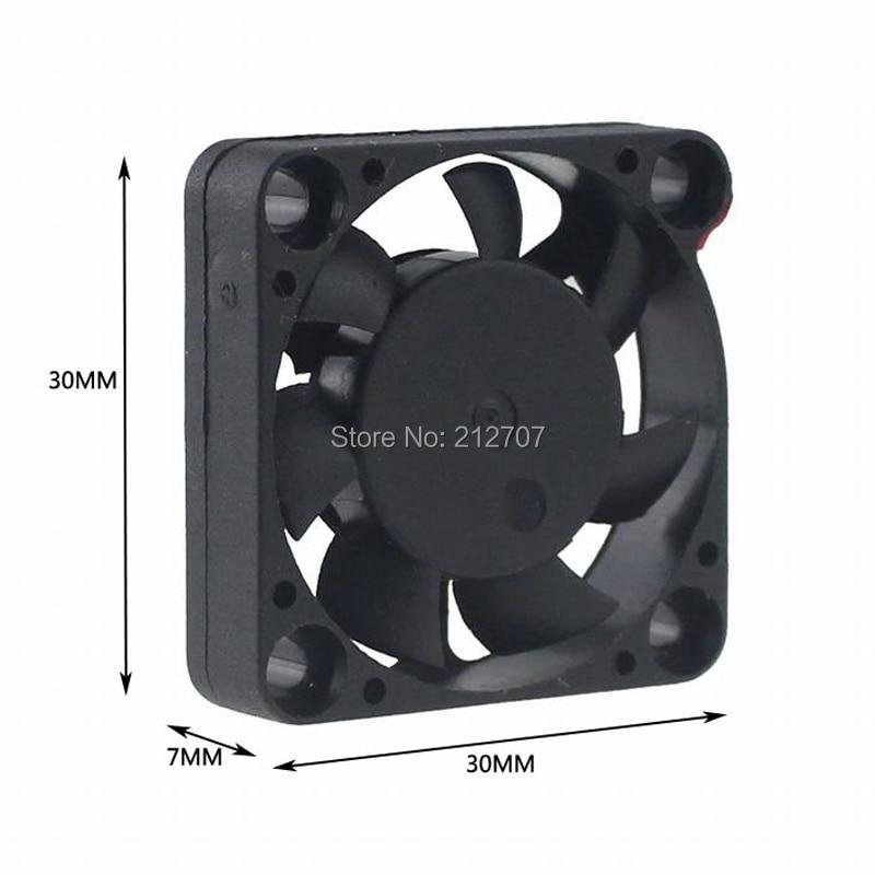 30x30x7mm 12v fan 4