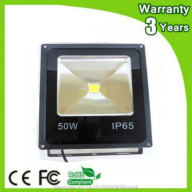 (12PCS / Lot) Epistar Chip 3 års garanti Vandtæt 10W 20W 30W 50W LED Flood Light LED Floodlight Spotlights Tunnel Bulb