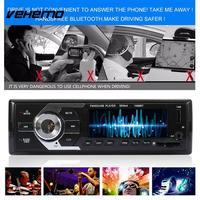 Vehemo Radio de Coche MP3 Coche Reproductor de MP3 Apoyo USB SD MMC Control Remoto Premium Headunit Car Kit FM Música Inteligente