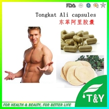 20:1 Excellent quality & natural tongkat ali extract pure herb extract capsules 500mg*100pcs medicine for long time sex