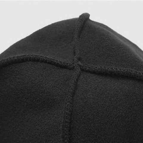 Men Women Unisex Winter Solid Color Soft Warm Watch Cap Polar Fleece Thickened Military Beanie Hat Windproof Outdoor Headwear Multan