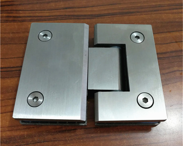 180 Degree Open SUS304 Stainless Steel Hinges Wall installation Glass Shower Door Hinge For Home Bathroom Furniture hinges black titanium 180 degree hinge open 304 stainless steel glass shower door hinges for home bathroom furniture hardware hm156