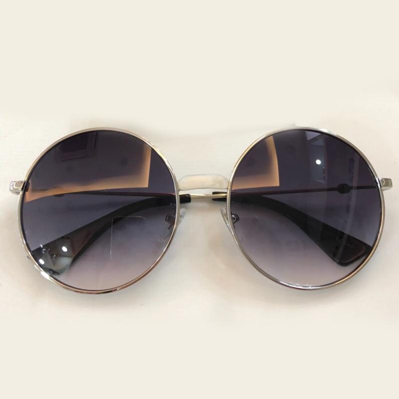 Sunglasses Sunglasses no3 Qualität Sunglasses Uv400 Retro Schutz No1 Sunglasses no2 Shades Hohe no4 2018 Sonnenbrille Objektiv Frauen Designer Legierung Neue Rahmen Runde Gradienten Marke 16RxgH