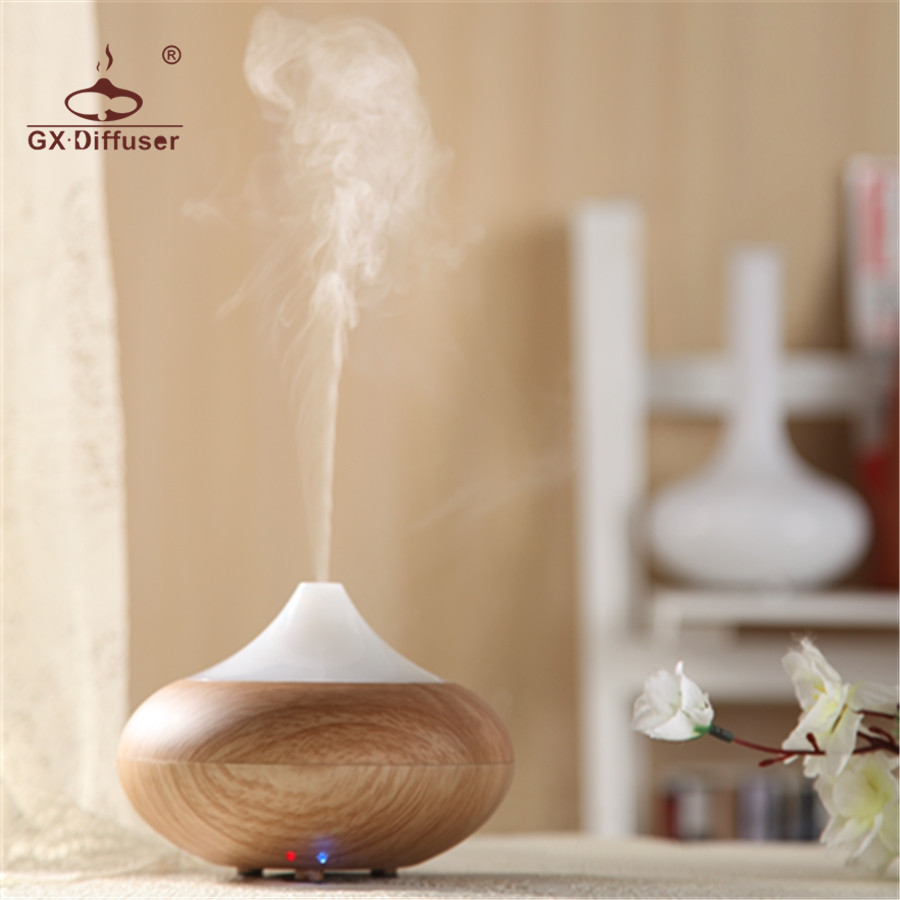 GX.Diffuser 02K Home Appliances Dry Protecting Electric Air Humidifier Essential Oil Aroma Diffuser for aromatherapy Mist Maker цена и фото