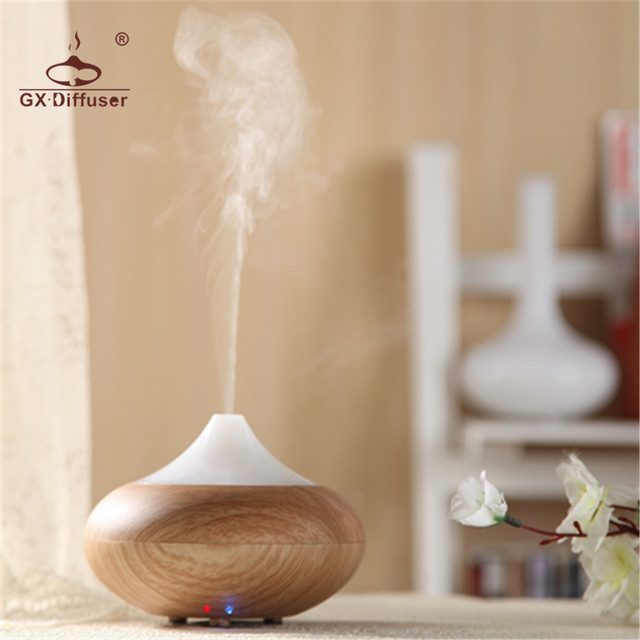 GX.Diffuser 02K Home Appliances Dry Protecting Electric Air Humidifier Essential Oil Aroma Diffuser for aromatherapy Mist Maker