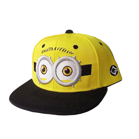 DINGDNSHOW 2019 Fashion Baseball Cap Kids Cartoon Hip Hop Cap Lovely Minions Cotton Summer Cap for Boys and Girls in Men 39 s Baseball Caps from Apparel Accessories