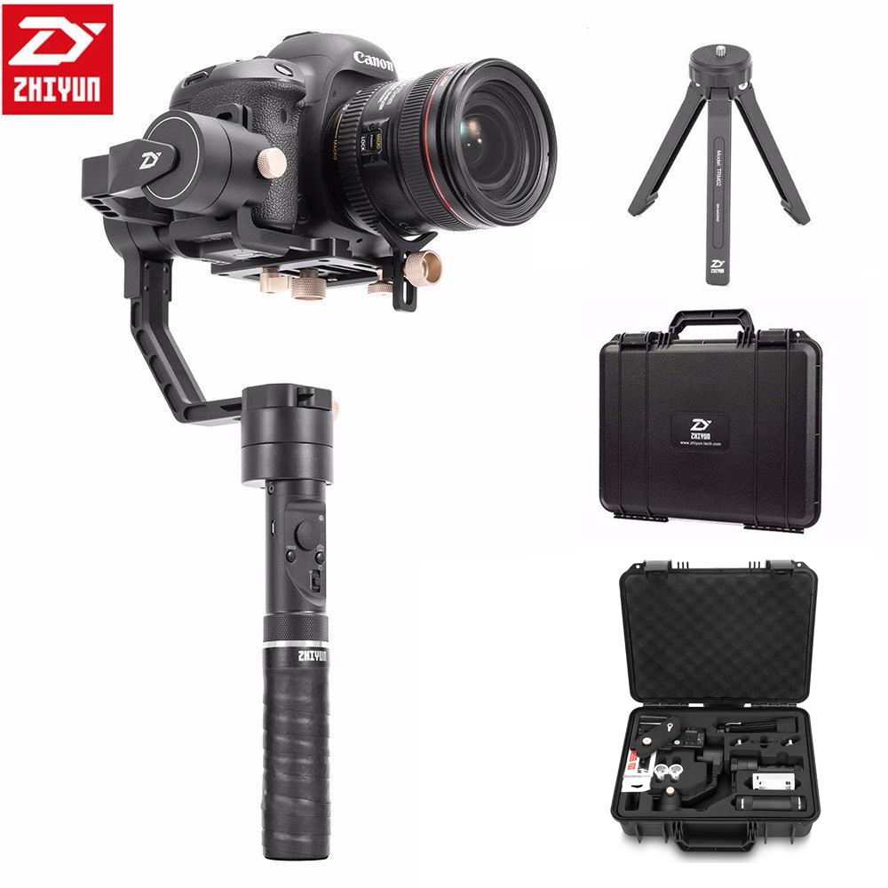 Zhiyun Crane Plus 3 Axis Handheld Gimbal Stabilizer,for Sony Canon Nikon Panasonic DSLR Camera POV 2.5KG Payload Object-tracking zhiyun crane plus 3 axis handheld gimbal stabilizer for sony canon nikon panasonic dslr camera pov 2 5kg payload object tracking