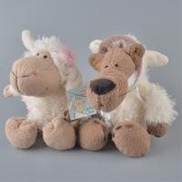 2 Adet 25 cm NICI Beyaz Koyunları Ve Beyaz Kurt Peluş Oyuncak, bebek Çocuk Bebek Hediye Ücretsiz Kargo