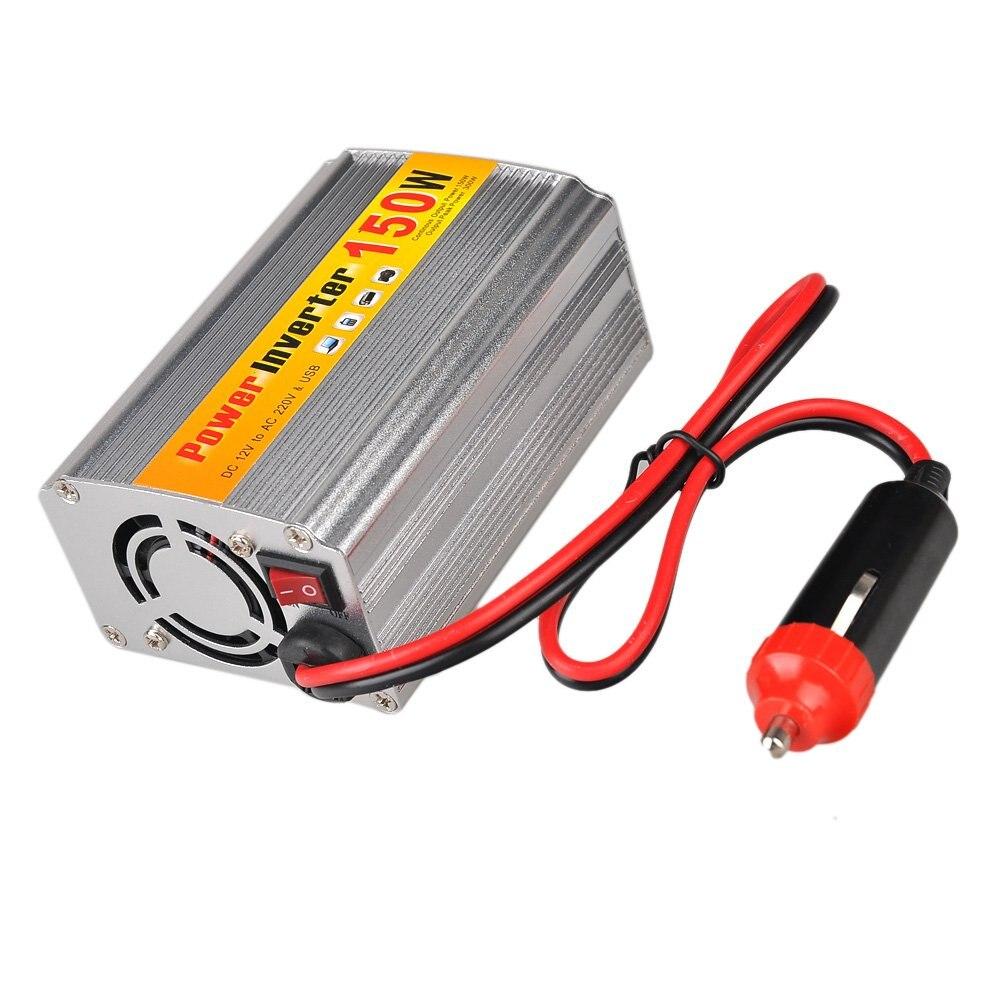 150W DC 12V zu AC 220V Auto Power Inverter mit usb-anschluss spannung transformatoren Wechselrichter auto automobil motor fahrzeug