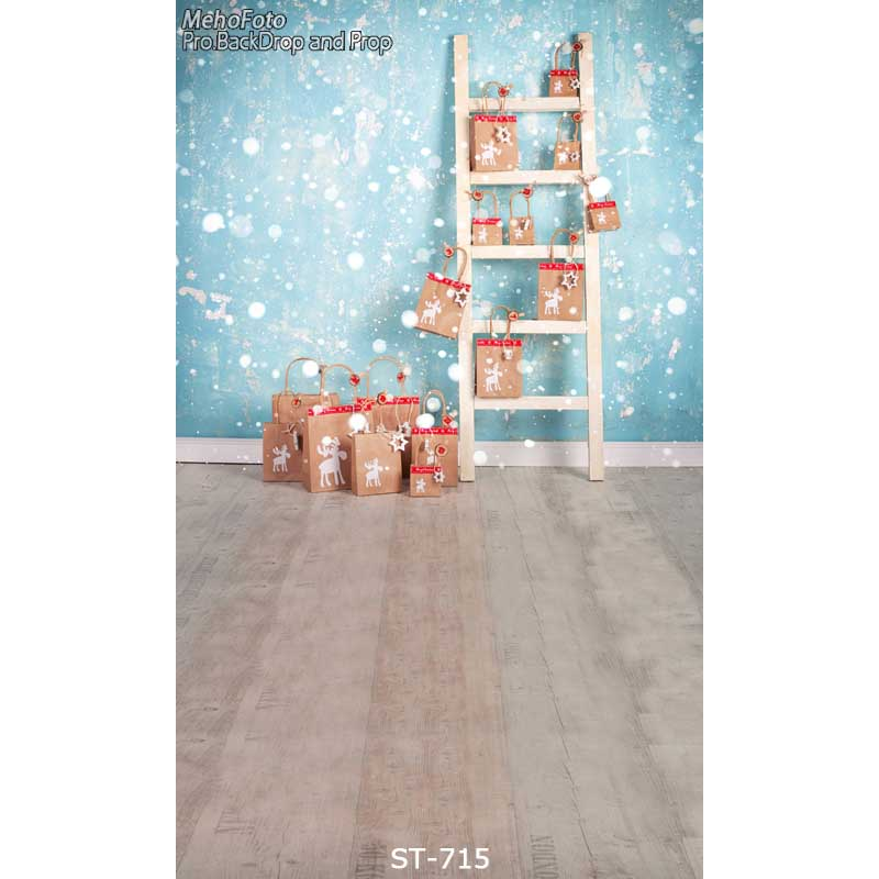 Digital Print Fabric Backdrops Fotografia Baby Background Studio Christmas Newborn Photography Background ST-715