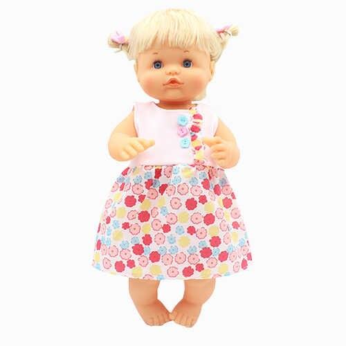 Boneca vestido quente, roupas para boneca de 35cm-42cm nenuco su hermanita, acessórios para boneca