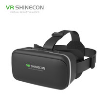 Professional Wholesale New Design Smart 3D Video Augmented Reality VR Glasses AR Headset Video And Game Mini VR(China)