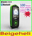 Nueva Original RUIZU X06 Bluetooth Deporte Reproductor de MP3 con Pantalla de 1.8 Pulgadas puede Grabadora reproductor de 100 Horas sin pérdidas de alta calidad FM