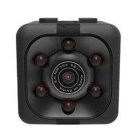 Камера Sq11 Pro мини камера Hd 1080 P ночного визуального движения цифровая мини воздушная камера черный пластик