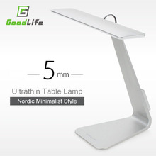 Ultrathin Mac Style 200LM LED 3 Mode Dimming Touch Switch Reading Table Lamp Built in Battery Desk Lamp Soft Light Night Light