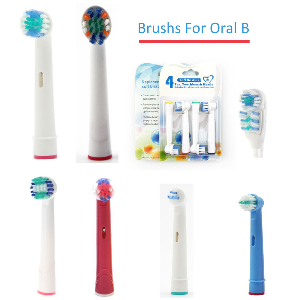 Toothbrush Family For Oral B Electric Toothbrush Head Replacement Toothbrush Case Box Precision Clean Sensitive Ortho Vitality