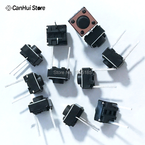 Image 5 - 100 CÁI Tactile Push Button Chuyển 6x6x5 mét 6*6*5mm 2 p Micro Chuyển Đổi Chuyển Đổi Chính Tactile Push Button Tắc 6x6x5mm