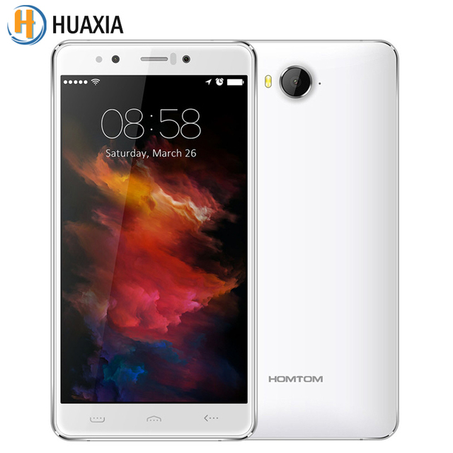 Presale Original Homtom HT10 5.5Inch 4G LTE Android 6.0 Smartphone MT6797 Deca Core Cellphone 4G RAM 32G ROM 21.0MP Mobile Phone
