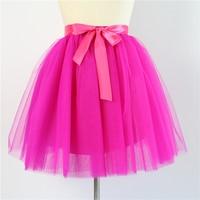 Yuppies Fashion 6 Layers 25 5 Long Frozen Skirts Princess Adult Tutu Tulle Bridesmaid Skirt Ball