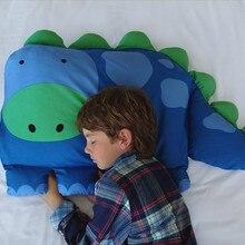 Симпатичная детская наволочка с рисунком животных для детей, наволочка для мальчиков, Дилан, динозавр, накидка на подушку для детей, K724