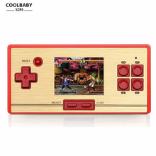RS-20 classic retro 30 anniversary children's game handheld video game console 2.6 inch screen 600 games tv game(China)