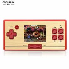 RS-20 clásico retro 30 aniversario de los niños juego de consola de videojuegos portátil 2.6 pulgadas de pantalla 600 juegos de juego de la tv