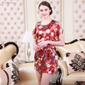 Spring Autumn Nightgown Paris Women Sexy Spaghetti Strap Lace Patchwork Lingerie Dress Sleepwear Sleepshirts