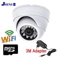 JIENU IP Camera Wifi 720P 960P 1080P Hd Cctv Home Security Wireless Support Audio Mini Surveillance