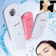 Mujeres belleza Nano Spray hidratante instrumento portátil práctico de la niebla hidratante agua pulverizador dispositivo rostro cuidado de la piel gran venta