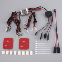 1:10 RC Car LED Lights Control System For Traxxas TRX 4 Bronco XLT Car 1set of LED Lights for Traxxas TRX4 Bronco Rc Parts zx