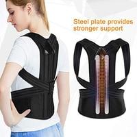 Postpartum Bandage Back Posture Corrector for Women & Men Powerful Magic Velcro Belt Adjustable Posture Brace after Pregnancy