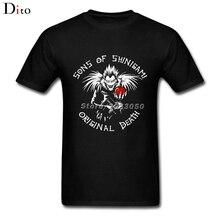 Son Of Shinigami T Shirt Men Man's Top Design Short Sleeve Fashion Custom Big Size Team  T Shirts