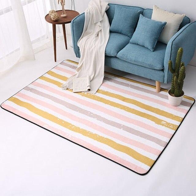 Einfache Moderne Geometrische Nordischen Stil Wohnzimmer Teppich ...