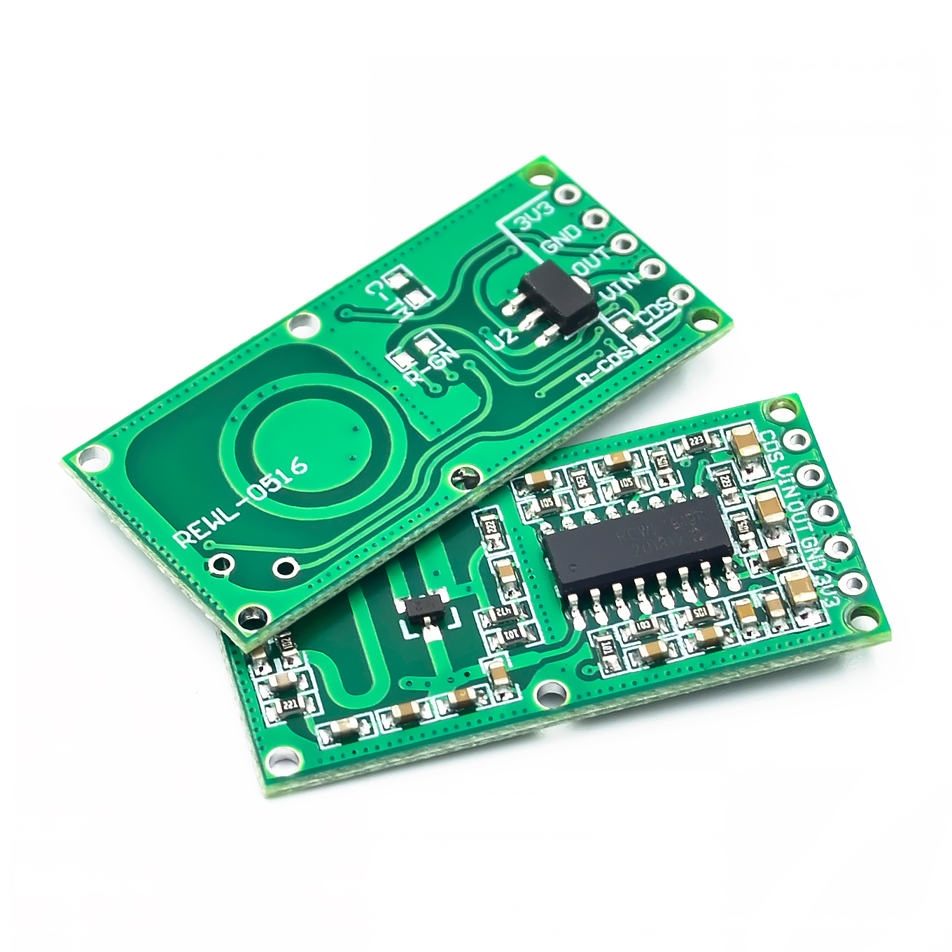 5PCS/LOT RCWL-0516 Microwave Radar Sensor Module Human Body Induction Switch Module Intelligent Sensor