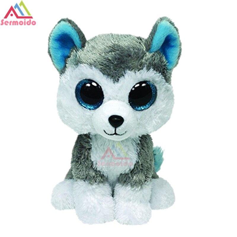 Ty 6 Beanie Боос Набивные плюшевые игрушки собаки хаски игрушка кукла Большой Средства ухода для век плюшевые подарок для маленьких детей dbp08