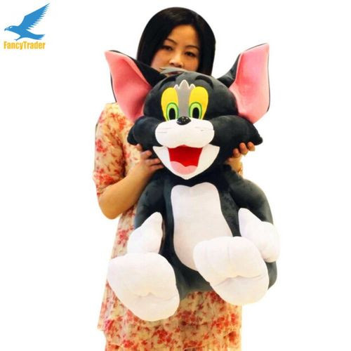 Fancytrader 2 pcs 26\'\' 65cm Big Plush Soft Cute Stuffed Giant Tom and Jerry Toy, Great Gift For Kids FT50217 (2)