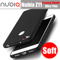Zte nubia z11 case original doukou ultra fino protetor fosco silicone macio capa para nubia z11 pro/z11 casos mini mini s