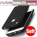 Zte nubia z11 doukou ultra thin frosted shield case original de silicona suave contraportada para nubia z11 pro/z11 mini casos mini s